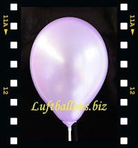 Video: Luftballon Perlmutt Violett